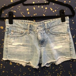 """AG """"Bonnie"""" Relaxed Fit Jean Shorts"""